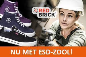 Redbrick Lena en Linda: nu met ESD-zool!!
