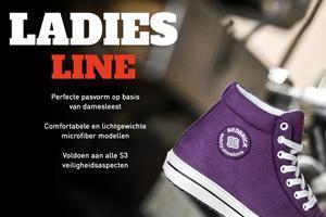 NIEUW: Redbrick S3 werkneakers voor dames!
