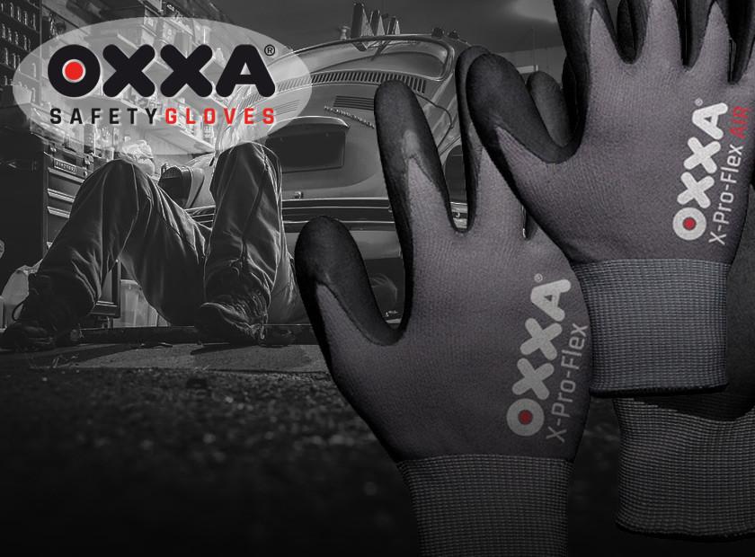 15% korting op best verkochte werkhandschoenen van OXXA