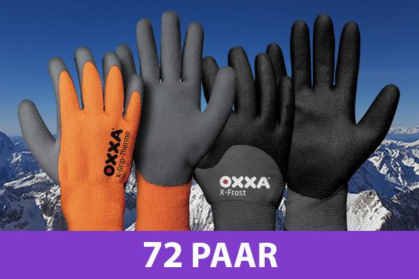 15% korting op meest populaire winter werkhandschoenen van OXXA!