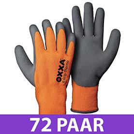 72 paar OXXA X-Grip-Thermo 51-850